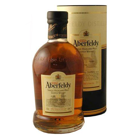 ABERFELDY 12yrs SINGLE MALT 750ml-1041