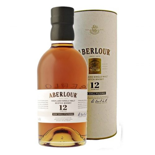 ABERLOUR NON CHILL-FILTERED 12yrs SINGLE MALT 750ml-1073