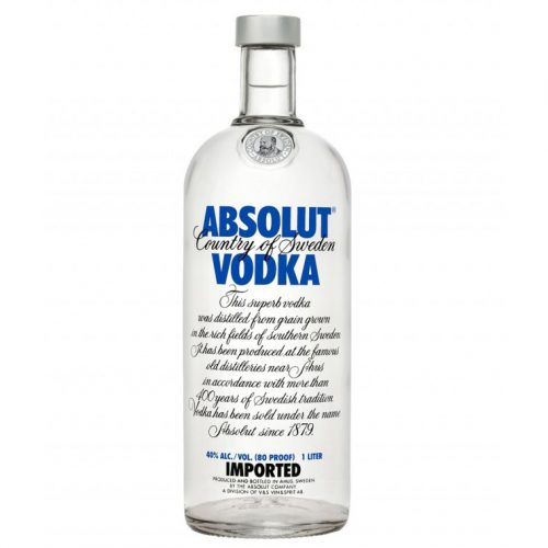 ABSOLUT SWEDEN 750ml-657