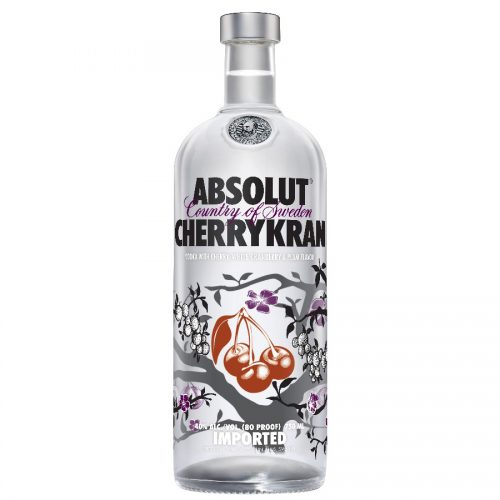 ABSOLUT VODKA CHERRYKRAN 750ml-0