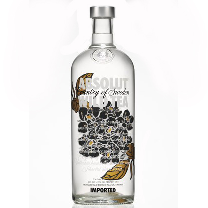 ABSOLUT WILD TEA 750ml-0