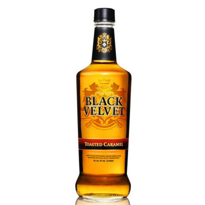 BLACK VELVET TOASTED CARAMEL FLAVORED WHISKEY 750ml-330