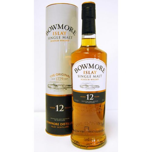 BOWMORE 12yrs SINGLE MALT 750ml-938