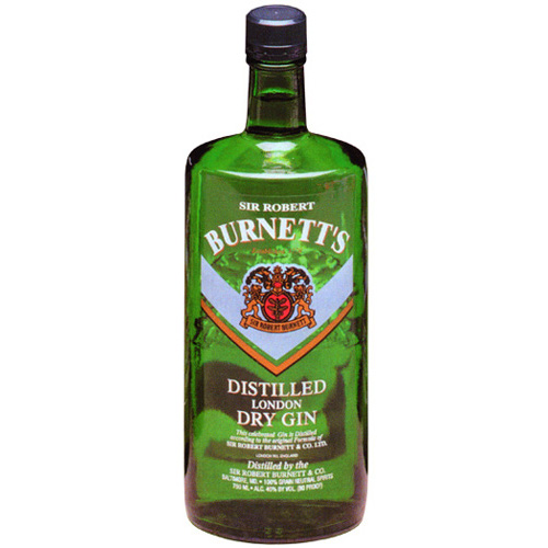 BURNETTS GIN AMERICAN 750ml-0