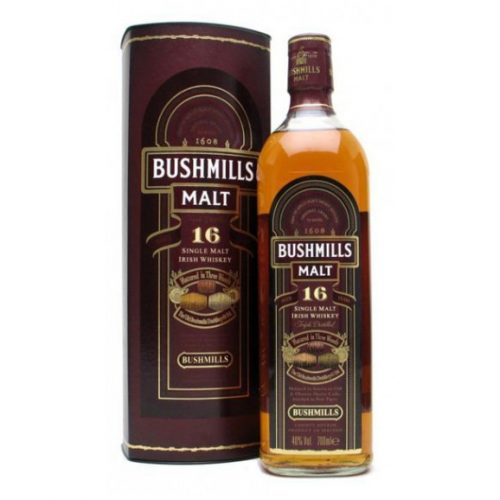 BUSHMILLS 16yrs SINGLE MALT 750ml-0
