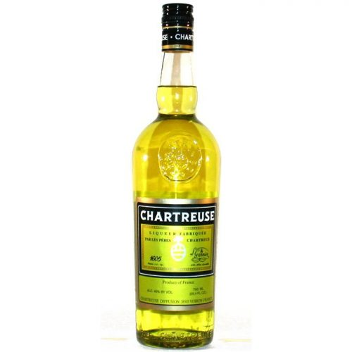 CHARTREUSE YELLOW LIQUEUR 750ml-0