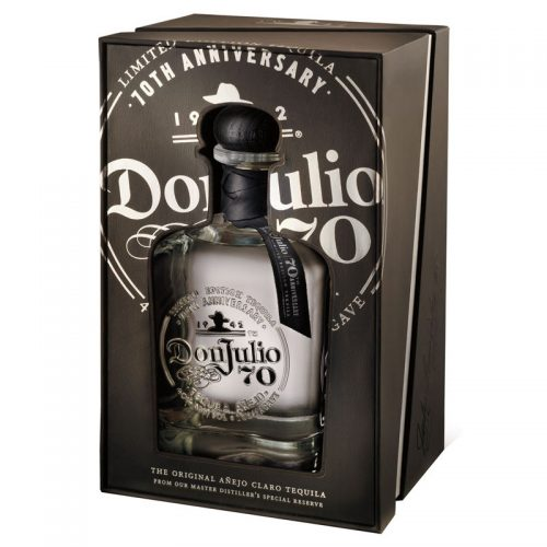 DON JULIO 70th ANNIVERSARY ANEJO TEQUILA 750ml-1082