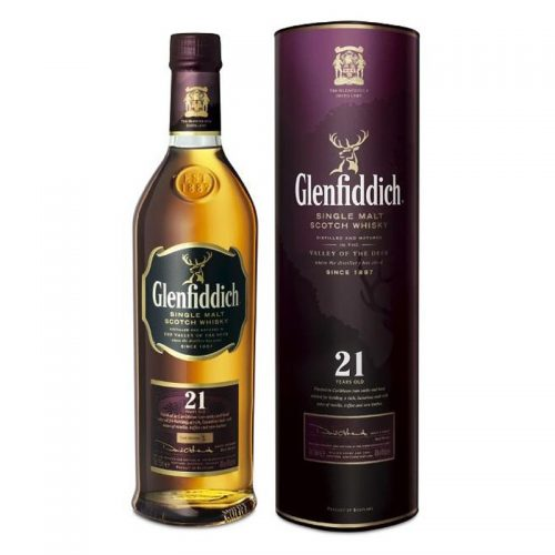 GLENFIDDICH 21yrs SINGLE MALT 750ml-0