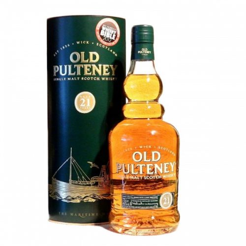 OLD PULTENEY 21yrs SINGLE MALT 750ml-2406