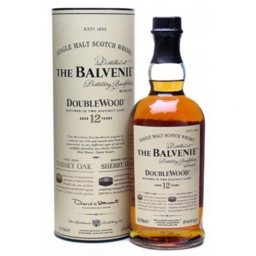 THE BALVENIE 12yrs DOUBLEWOOD SINGLE MALT 750ml-963