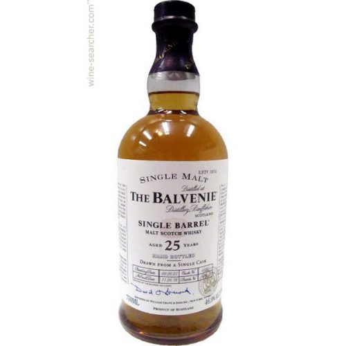 THE BALVENIE 25yrs SINGLE MALT 750ml-0