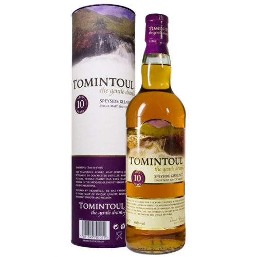 TOMINTOUL 10yrs SPEYSIDE 750ml-933