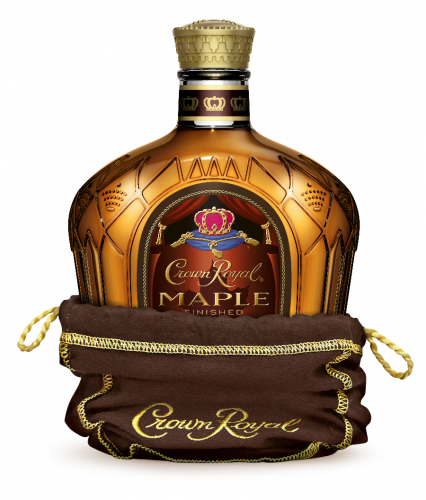 CROWN ROYAL MAPLE FLAVORED WHISKY 750ml-5149