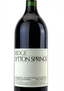 RIDGE LYTTON SPRINGS ZINFANDEL 750ml-3703