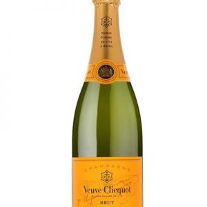 VEUVE CLICQUOT YELLOW LABEL 750ml-3579