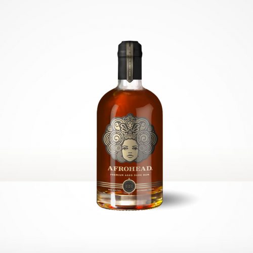 AFROHEAD 7yrs PREMIUM AGED DARK RUM 750ml-3109