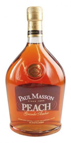 PAUL MASSON PEACH BRANDY 750ml-0