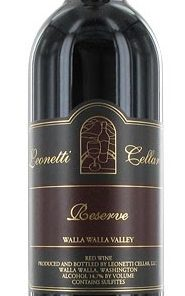 LEONETTI CELLAR RESERVE RED WINE 750ml-4310