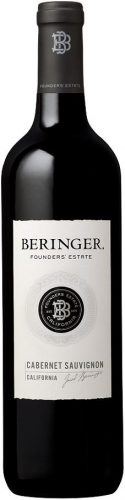 BERINGER FOUNDERS ESTATE CAB/SAUV 750ml-4874
