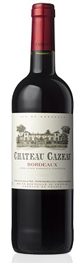 CHATEAU CAZEAU MEDAILLE GOLD BORDEAUX 750ml-4655
