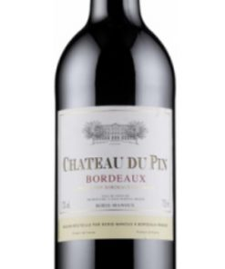 CHATEAU DU PIN BORDEAUX 750ml-4664