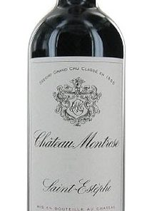 CHATEAU MONTROSE SAINT ESTEPHE 750ml-4674