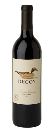 DECOY MERLOT SONOMA COUNTY 750ml-4725