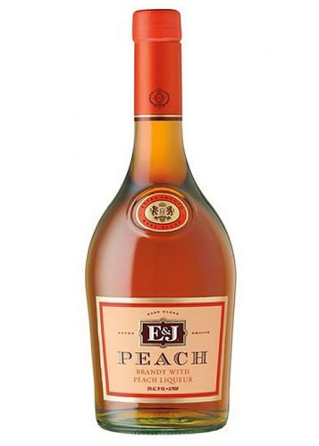 E&J PEACH BRANDY 750ml-5023