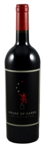 HOUSE OF CARDS NAPA VALLEY RED WINE 750ml-4918
