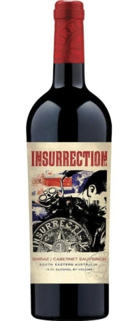 INSURRECTION SHIRAZ Cabernet Sauvignon 750ML-4923