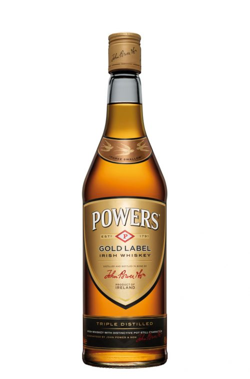POWERS GOLD LABEL IRISH WHISKEY 750ml-4973