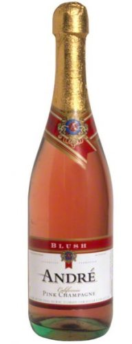 ANDRE BLUSH CHAMPAGNE 750ml-5065